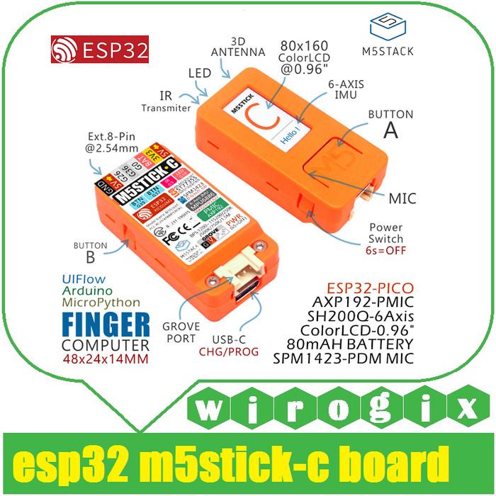 Jual ESP32 Pico M5StickC Board - Kota Bandung - wirogix   Tokopedia