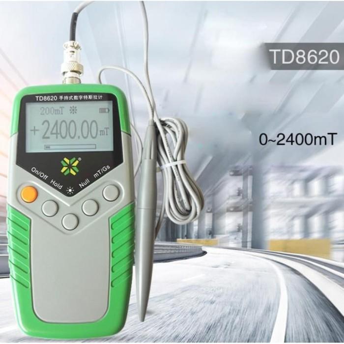 Foto Produk Tesla Gauss Magnet Meter TD-8620 Tester Gaussmeter TD8620 TeslaMeter dari HRDIK