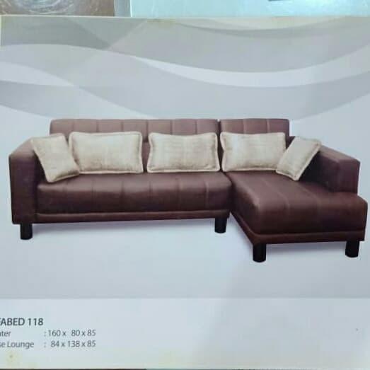 Jual Sofa Bed 118 Hitam Kota Pekanbaru Murano Furniture Tokopedia