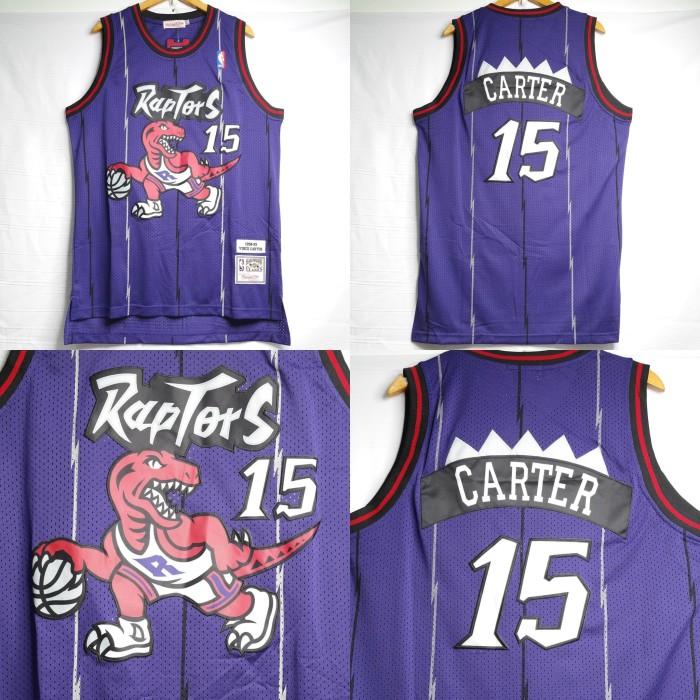 harga Jersey basket nba swingman revo toronto raptor #15 carter Tokopedia.com