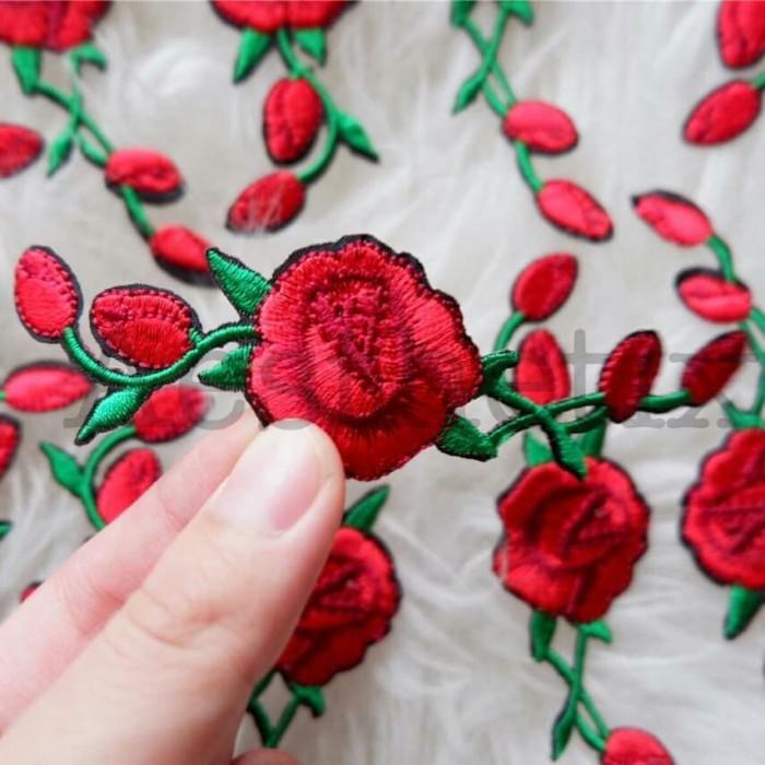Custom Embroidered Tiger Rose Vans Navy