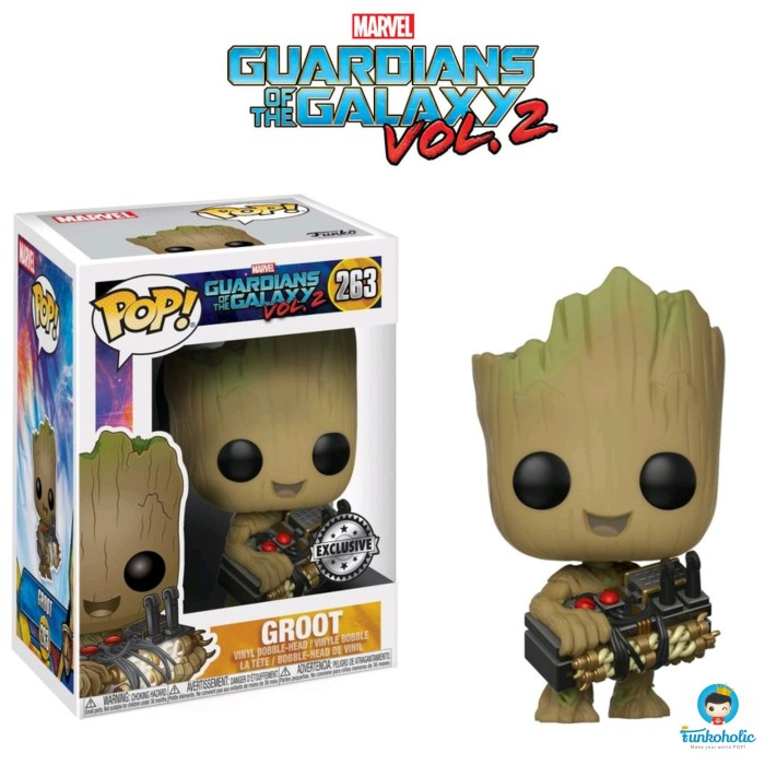 2 Pop Groot with Candy Bowl US Exclus... Vinyl--Guardians of the Galaxy: Vol