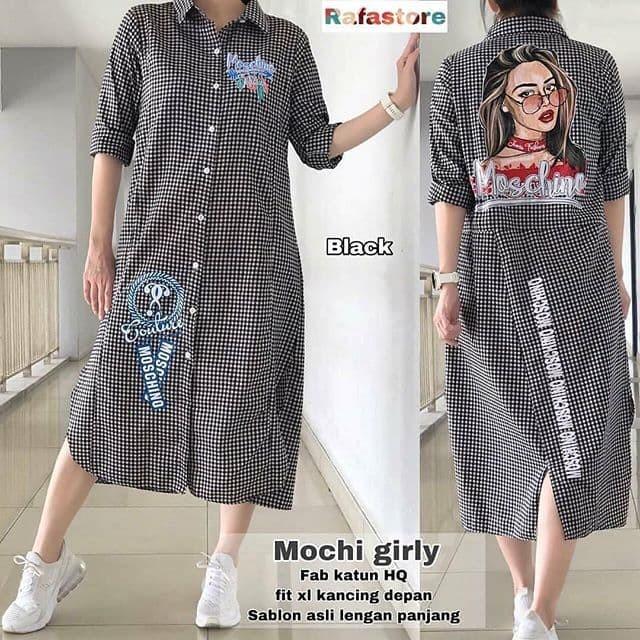 Foto Produk mochi girl tunic / pakaian wanita / fashion wanita / atasan wanita dari Senshi group store bdg