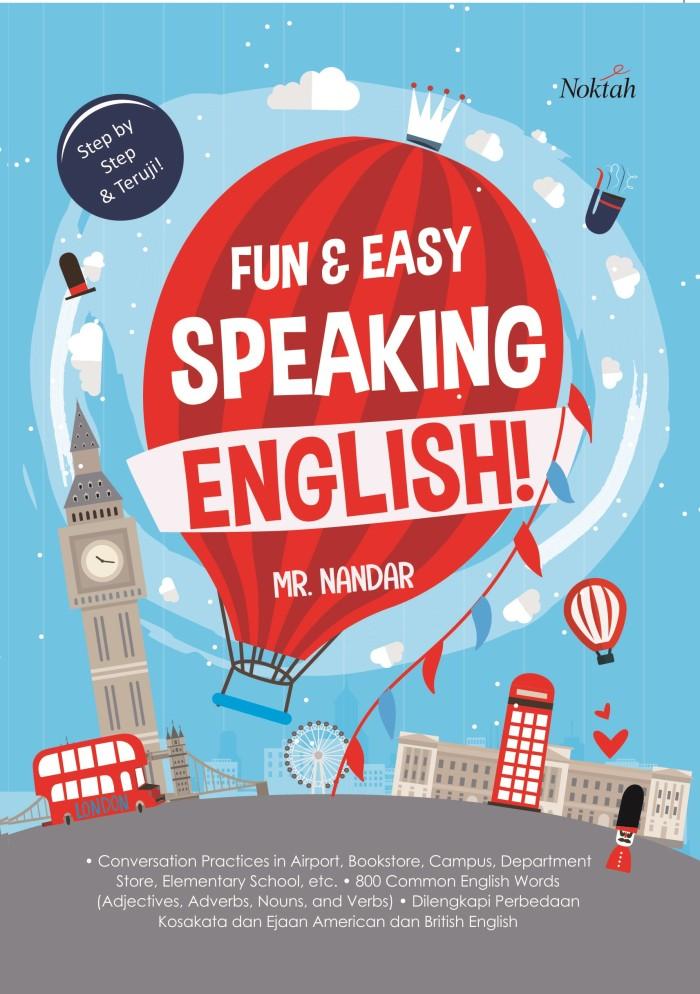 harga Buku fun & easy speaking english - noktah Tokopedia.com
