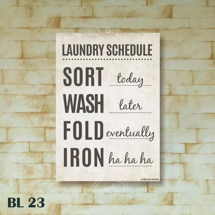 Jual Bl23 Poster Kayu Hiasan Dinding Quotes Laundry Wall Decor Vintage Kota Bogor Zetika Shop Tokopedia