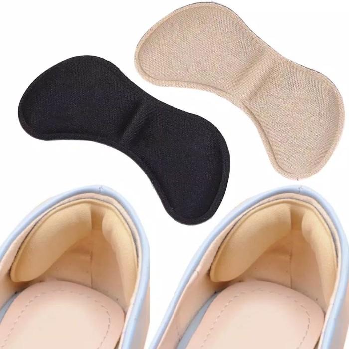 Foto Produk 4D Soft Heel Cushion / Bantalan Pengganjal Sepatu Empuk Anti Lecet - Hitam dari Mimi House
