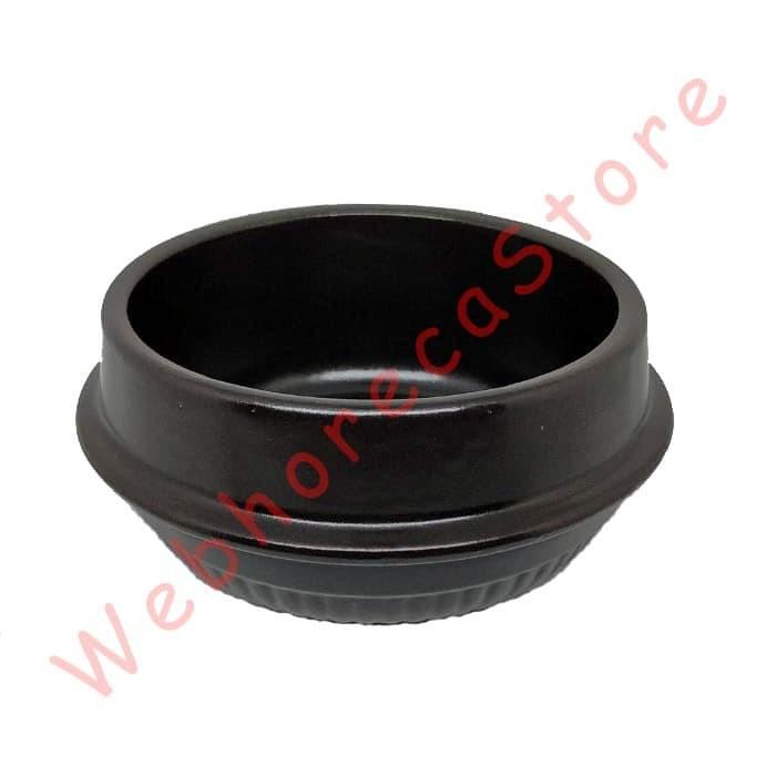 Foto Produk Ttukbaegi Dolsot Korean Bowl 450ml w Trivet / Mangkok Korea 11cm dari WebhorecaStore
