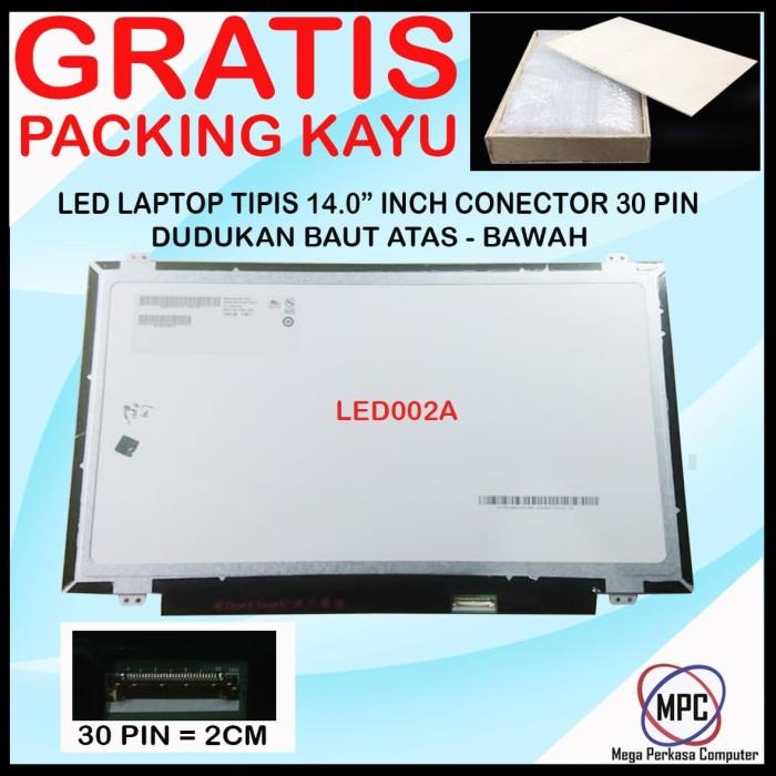 Foto Produk LCD LED 14.0 14 Inch SLIM 30 PIN dari Mega Perkasa Computer
