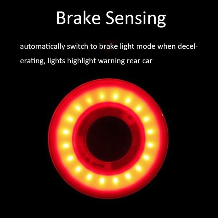 XLite100 Bicycle Bike LED Rear Light Auto Start//Stop Brake Sensing Taillight NEW