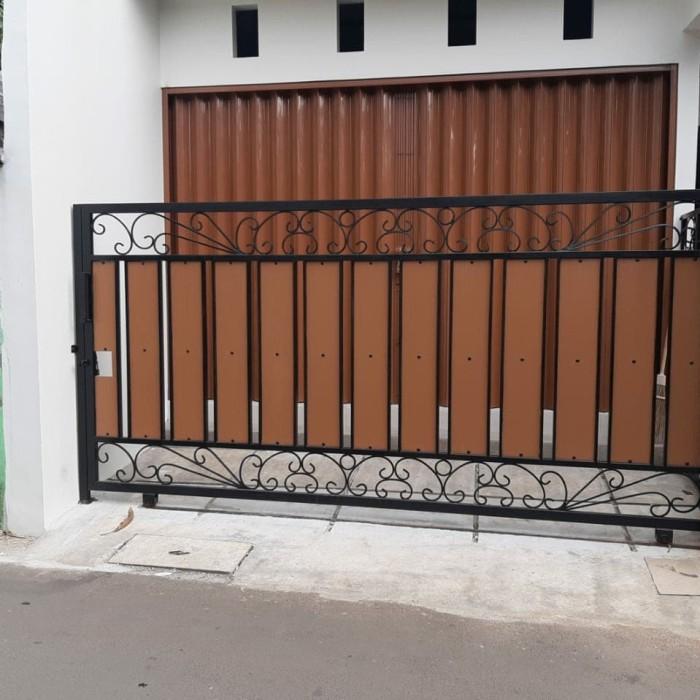 Jual Pagar Dorong Woodplank Kota Bekasi Rhiry Jaya Las Tokopedia