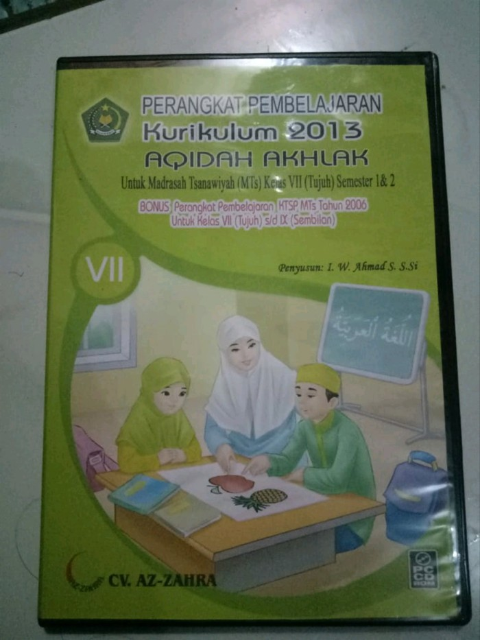 Jual Cd Rpp K13 Smp Mts Kelas 7 Vii 8 Viii 9 Ix Mapel Akidah Akhlak S Kota Yogyakarta Arifah36 Tokopedia