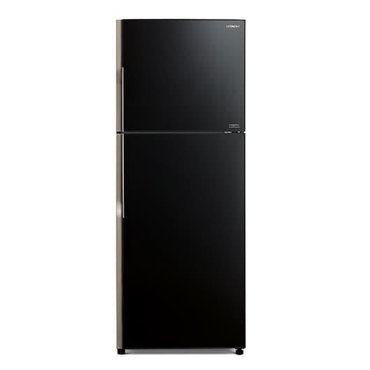harga Kulkas hitachi r-vg45pgd8 gbk 2 glass door 365 l rvg45pgd8 gbk Tokopedia.com