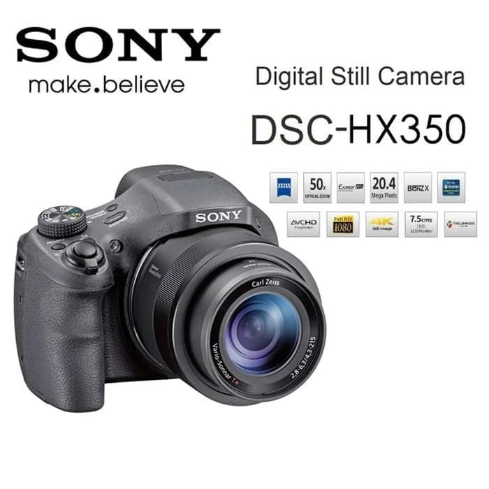 Sony hx350 -kamera sony cyber-shot dsc-hx350