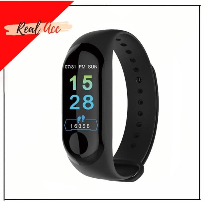 Jual M3 Smart Band Watch Mirip Mi Band 3 Smartband Smartwatch - Murah -  Hitam - Jakarta Selatan - Real ACC   Tokopedia