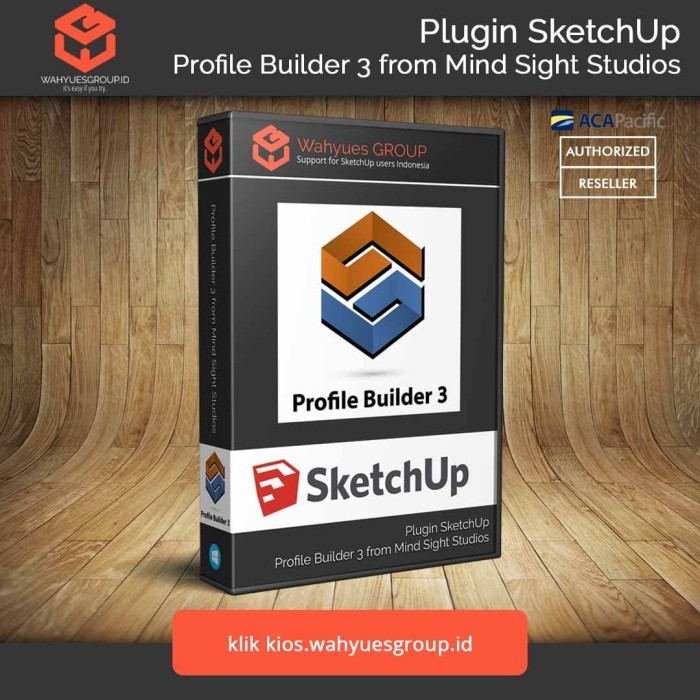 Foto Produk Profile Builder 3 Plugin SketchUp License Original dari Wahyues GROUP