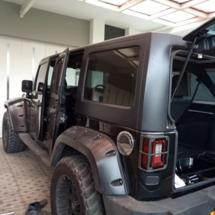Wrangler Hard Top >> Jual Hitam Peredam Plafon Hard Top Jeep Wrangler Jk Rubicon Kota Bandung Vtech Indonesia1 Tokopedia