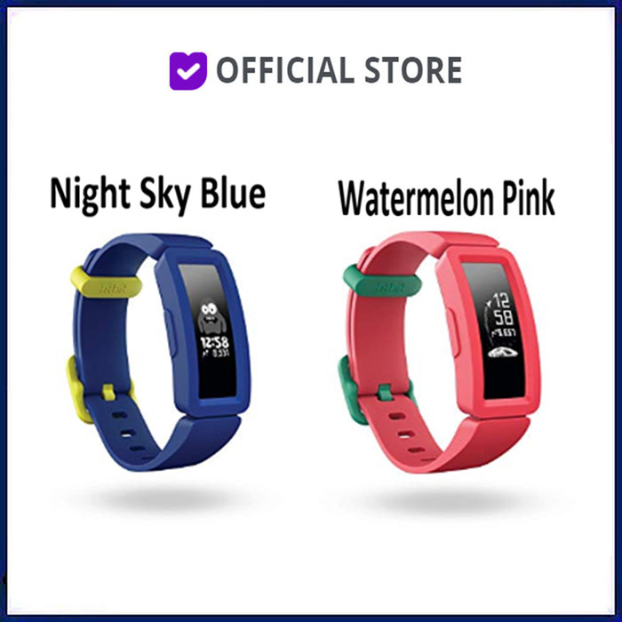 harga Fitbit ace 2 activity tracker for kids 6+ ace2 track kid 6 - watermelon pink Tokopedia.com
