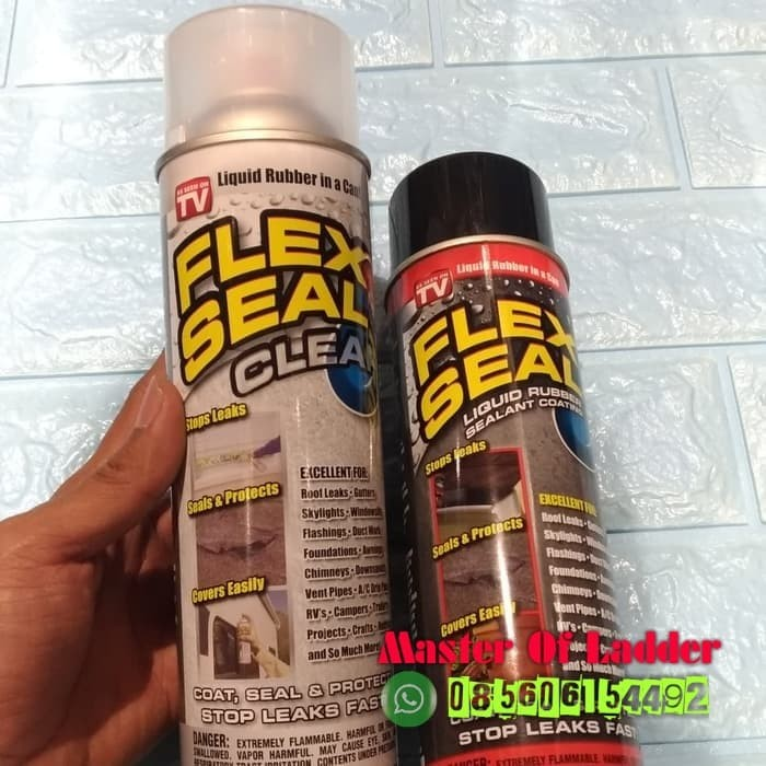Flex Seal Spray Penutup Celah Lubang