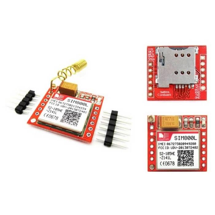 Jual module Serial GSM Quad Band Modem GPRS SMS gateway sim Card SIM800L -  Kab  Sidoarjo - mulia-electric | Tokopedia
