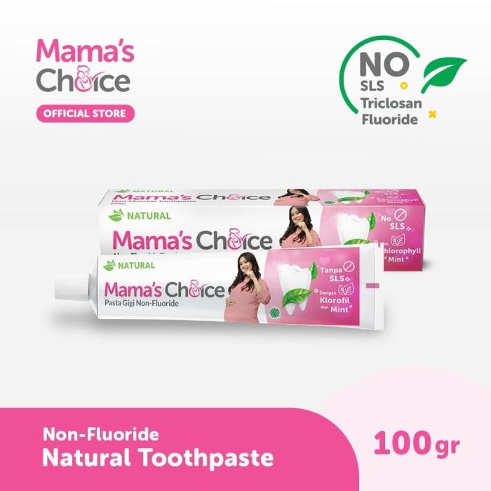 Foto Produk Mama's Choice Maternity Toothpaste (Pasta Gigi Khusus Ibu Hamil) dari MamasChoiceID