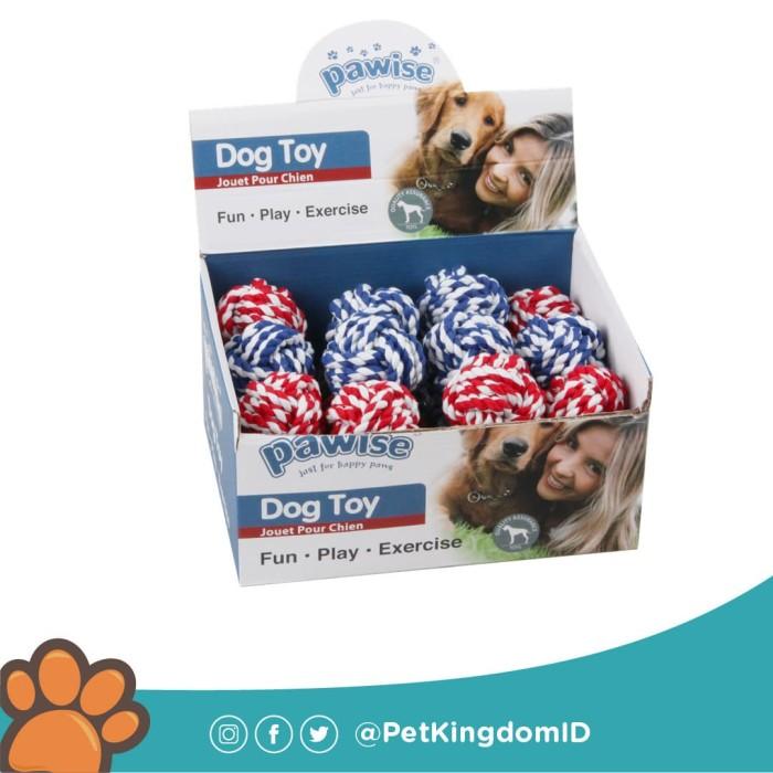 Foto Produk Mainan Anjing Rope Knot Ball 6CM dari Pet Kingdom