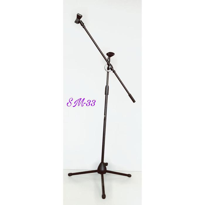 harga Stand tripod mic microphone holder paladin sm33 Tokopedia.com
