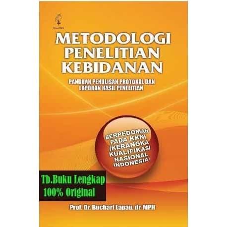 Jual Buku Metodologi Penelitian Kebidanan Panduan Penulisan