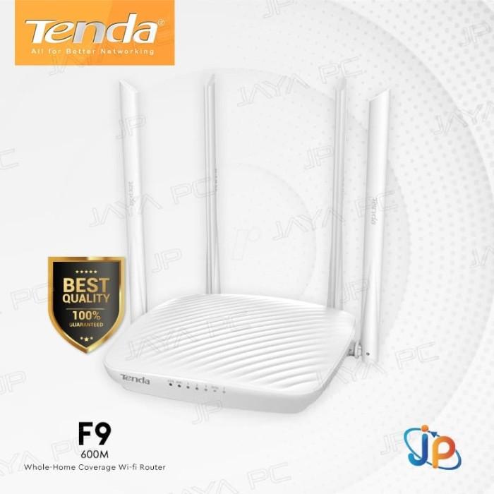 Foto Produk Tenda F9 600M WiFi Wireless Network Router Extender 600Mbps Whole-Home dari Jaya PC