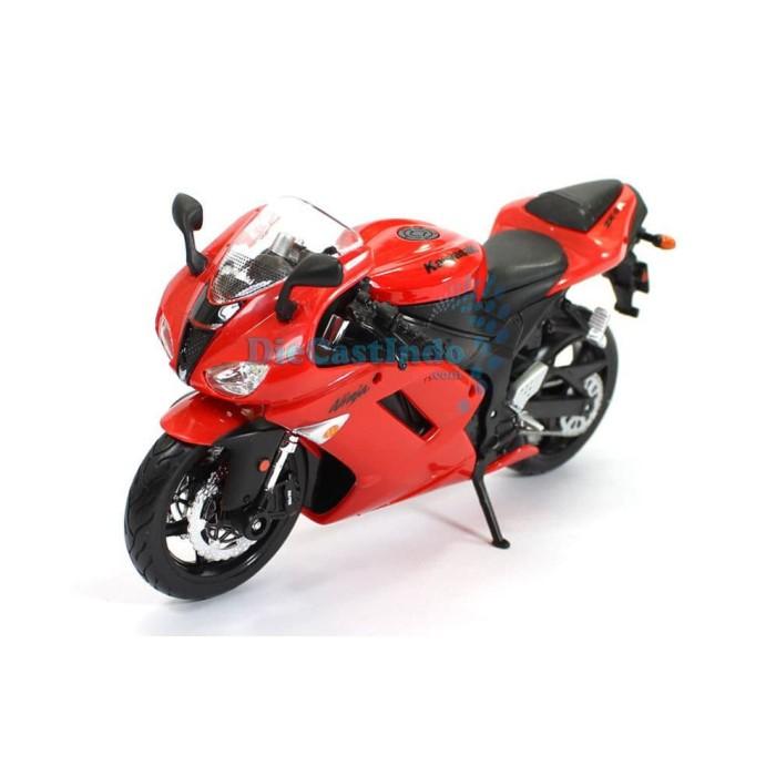 harga Maisto motor - kawasaki ninja zx-6r red- skala 1:12 Tokopedia.com