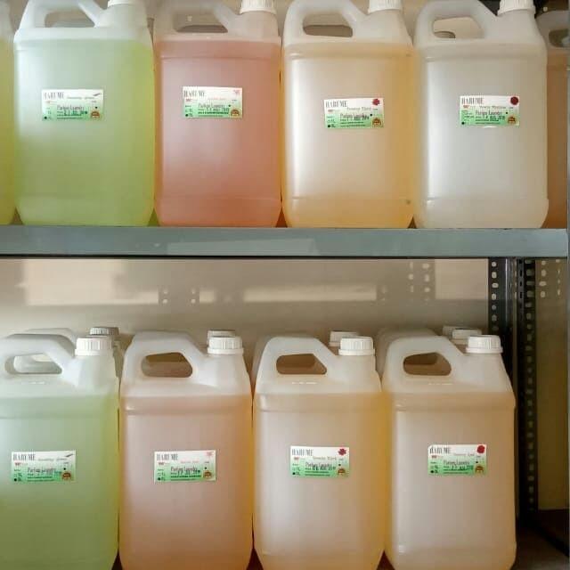 Foto Produk Parfum Laundry Grade A+ (A Plus) Kleen-R Harume 5 literan dari bahanpembersih com