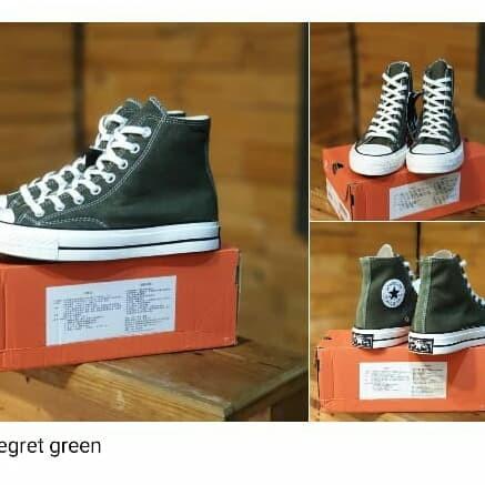 Jual Sepatu Converse 70s Egret Herbal Green Sneaker Converse