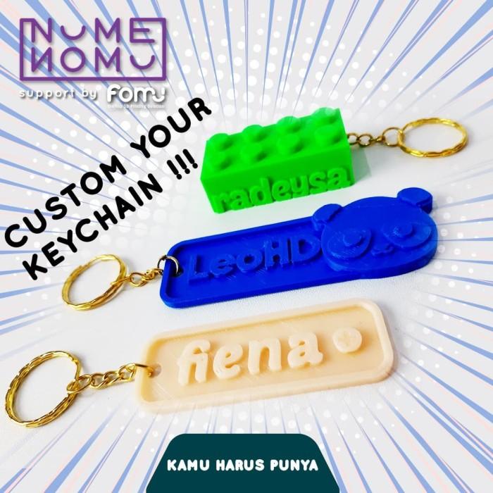 Foto Produk gantungan kunci custom dari fomu