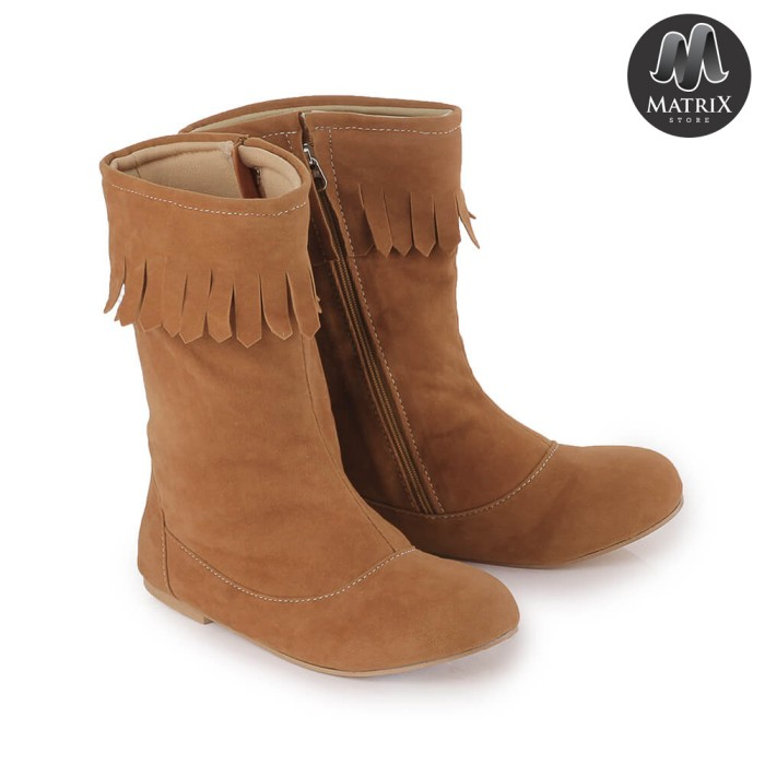 Foto Produk Sepatu Boots Tinggi Anak Perempuan - Sepatu Boots Anak Fashion Show dari Matrix Shop