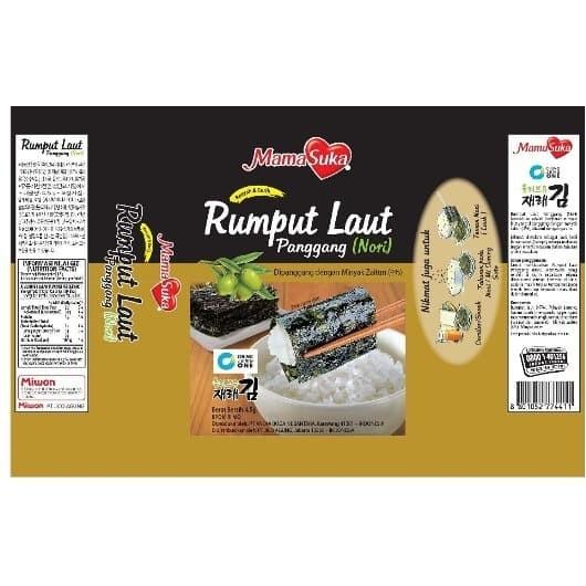 Foto Produk Mamasuka Rumput Laut Panggang Nori Kemasan Box - Original dari lolica shop