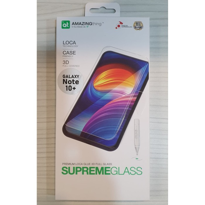 harga Amazingthing galaxy note 10 plus loca glue tempered glass + uv light Tokopedia.com