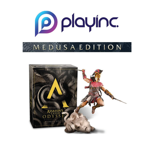Jual Ps4 Assassin S Creed Odyssey Medusa Edition R3 Eng