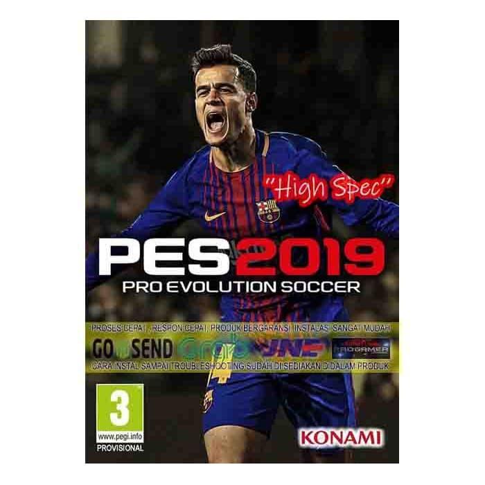 Foto Produk PES 2019 CD DVD GAME PC GAMING PC GAMING LAPTOP GAMES dari WEPRO-SHOP