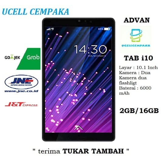 Foto Produk Tablet Advan i10 - 16GB - Garansi Resmi dari ucell cempaka