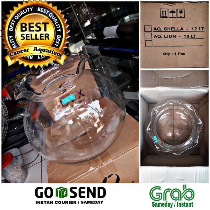 Jual Aquarium Toples / Aquarium Bulat / Fish Ball 12 Liter