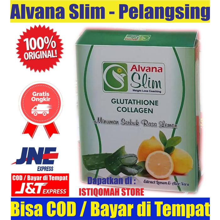Foto Produk Alvana Slim Obat Diet Pelangsing Alami Turunkan Berat Badan Ampuh dari Istiqomah-Store