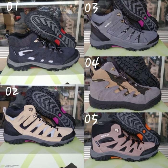 Foto Produk Sepatu Hiking Olahraga Pria Gunung Outdoor Karrimor Boots Trekking - Kode 01, 39 dari Onlinejaya