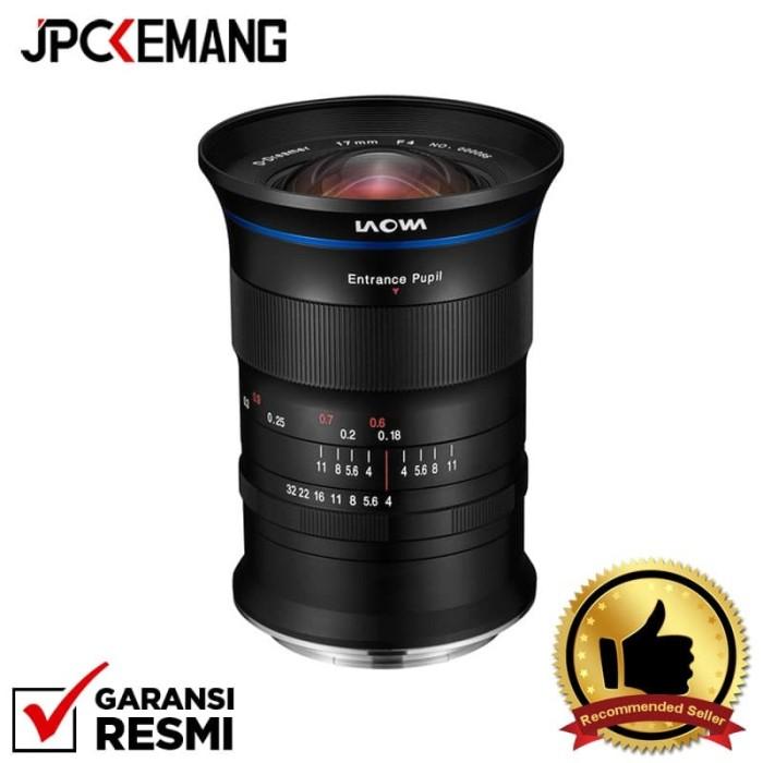 Foto Produk Laowa 17mm f/4 GFX Zero-D Lens for Fujifilm GARANSI RESMI dari JPCKemang