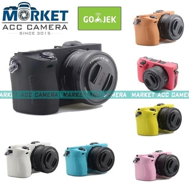 Black Soft Silicone Camera Case Rubber Skin Case Protective Cover ...