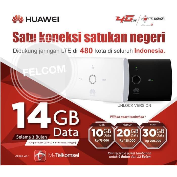 harga Mifi 4g lte huawei e5673 bundling telkomsel free 14gb 1 bulan unlock Tokopedia.com