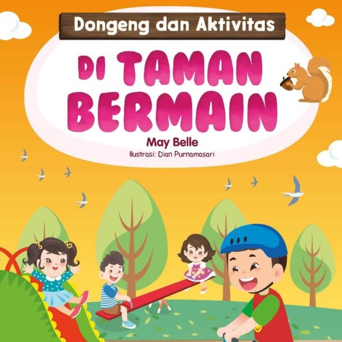 Gambar Ilustrasi Taman Bermain Jual Buku Paud Di Taman Bermain Kota Bogor Kokabu Tokopedia