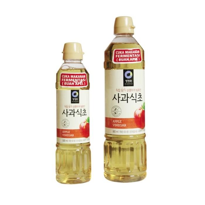 Foto Produk Daesang Chung Jung One Apple Vinegar- Cuka Apel Korea - 500 dari lolica shop