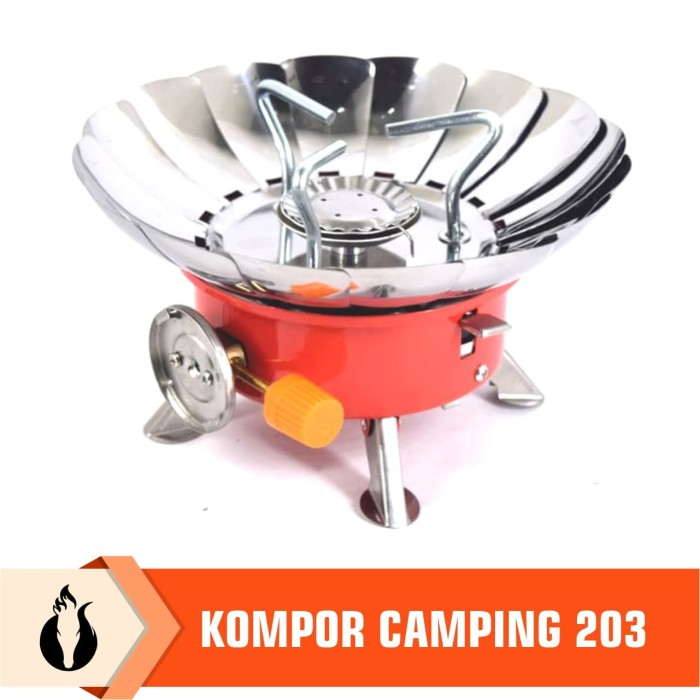 Foto Produk Matougui Kompor Camping Gunung 203 Kompor Kembang Portable Hiking dari Matougui Outdoor Sport