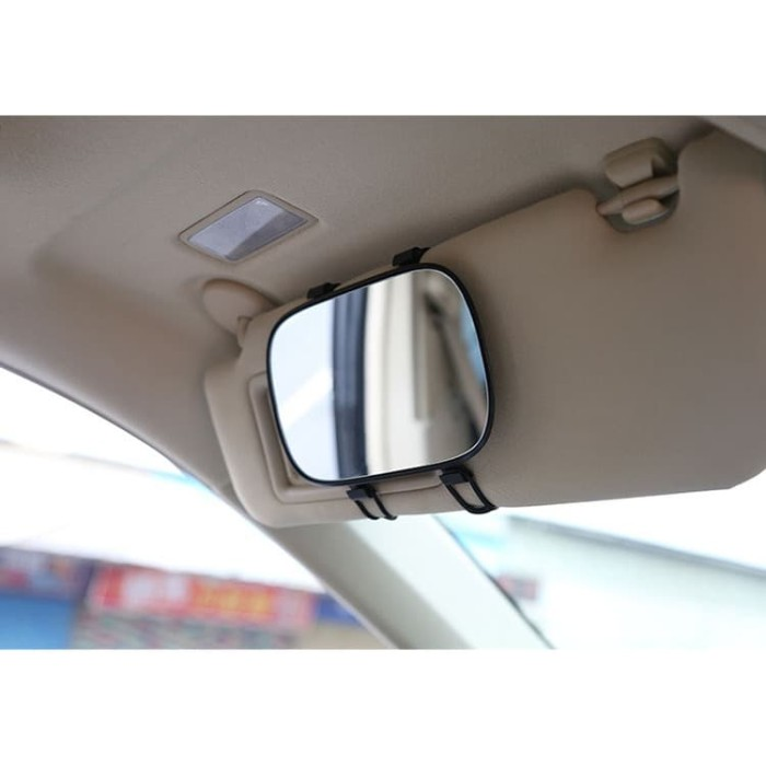 harga Car makeup portable bezelless mirror |cermin kaca sunvisor mobil Tokopedia.com