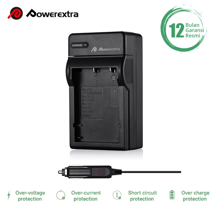Foto Produk Powerextra Battery Charger for Fujifilm NP-95 BC-65 BC-65N dari Powerextra Indonesia