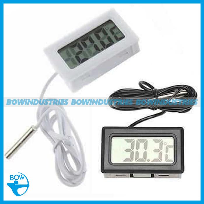 harga Termometer termo meter thermometer digital pengukur suhu air aquarium Tokopedia.com